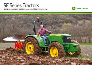 Hinterrad-Traktoren John Deere 5055E