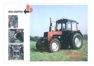 Allrad-Traktoren Belarus 1025