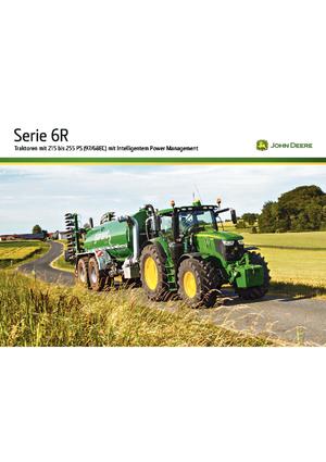 Allrad-Traktoren John Deere 6195R