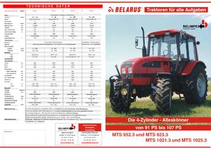 Allrad-Traktoren Belarus 1025.3