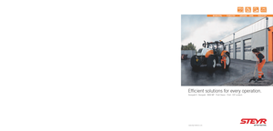 Allrad-Traktoren Steyr CVT 6160 Profi
