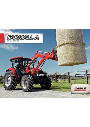 Allrad-Traktoren Case IH Farmall 95 A Komfort