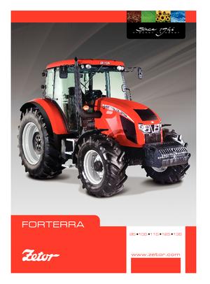 Allrad-Traktoren Zetor Forterra 110