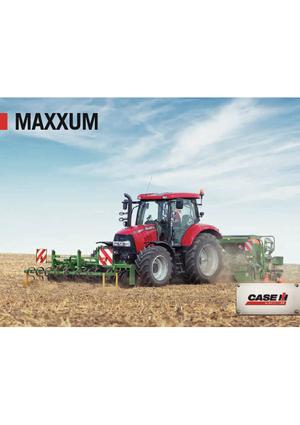 Allrad-Traktoren Case IH Maxxum 130 CVX Basis