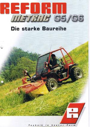 Allrad-Traktoren Reform Werke Metrac G 6