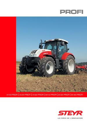 Allrad-Traktoren Steyr 4110 Profi Profi
