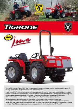 Allrad-Traktoren Carraro Tigrone 5500