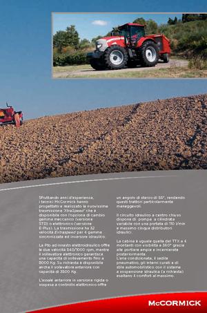 Allrad-Traktoren McCormick XTX 165 M