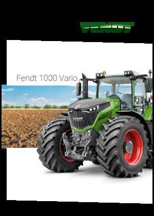 Allrad-Traktoren Fendt 1050 Vario