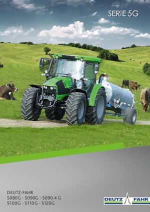 Allrad-Traktoren DEUTZ-FAHR 5090 G Plus