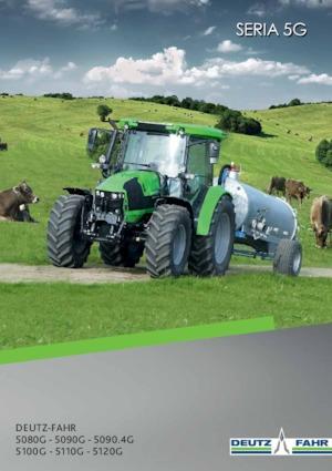 Allrad-Traktoren DEUTZ-FAHR 5090.4 G Plus