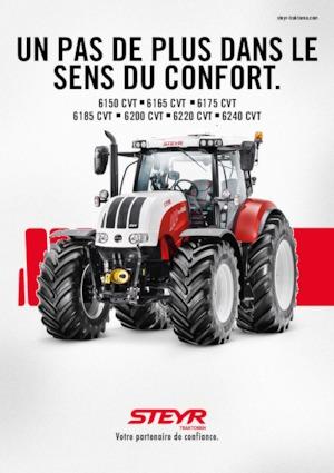 Allrad-Traktoren Steyr 6185 CVT Komfort