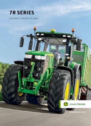 Allrad-Traktoren John Deere 7310 R