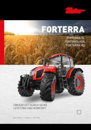 Allrad-Traktoren Zetor Forterra 130 HSX
