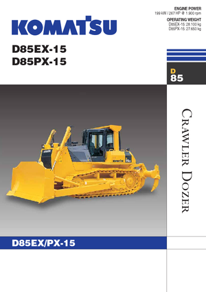 Kettendozer Komatsu D85PX-15E0