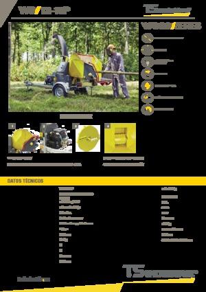 Holzhäcksler TS-Industrie 12-19 P