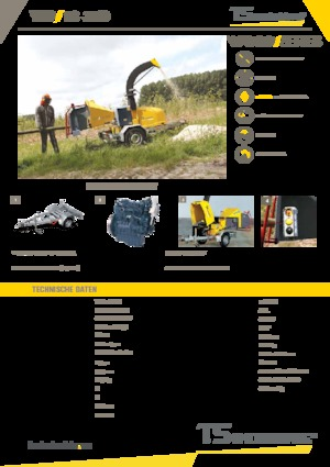 Holzhäcksler TS-Industrie 18-35 D
