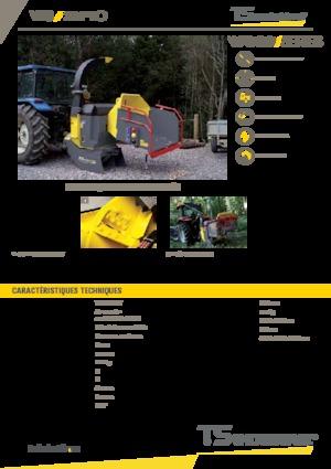 Holzhäcksler TS-Industrie 20 PTO