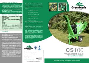 Holzhäcksler Green Mech CS 100-14 PS