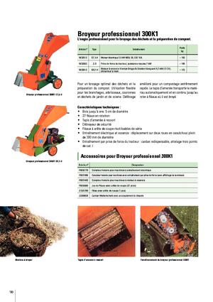 Holzhäcksler Posch Profi-Häcksler 300K1 B8 ST-S