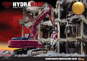 Beton-Abbruchzangen Hydra Ram HCC-320V