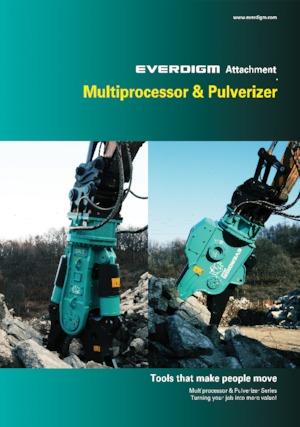 Beton-Pulverisierer Everdigm EHP25R