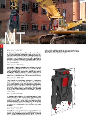 Beton-Pulverisierer VTN MT 25 + P