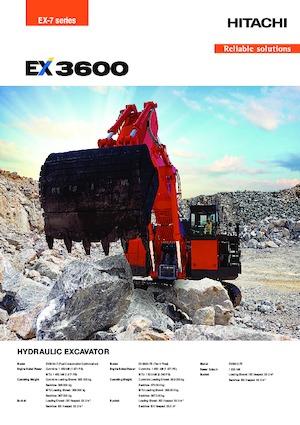 Raupenbagger Hitachi EX3600-7