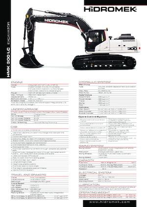 Raupenbagger Hidromek HMK 300 LC PLUS