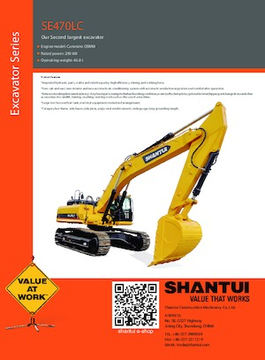 Raupenbagger Shantui SE470LC