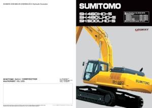 Raupenbagger Sumitomo SH480LHD-5 MASS