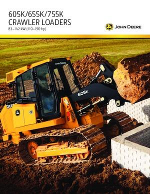 Laderaupen John Deere Construction 605K