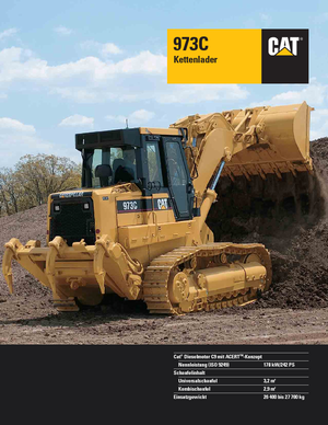 Laderaupen Caterpillar 973C