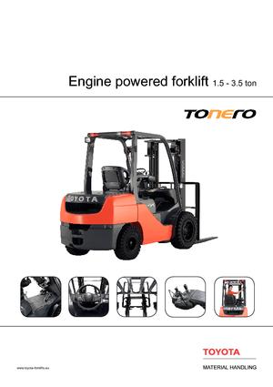 Frontstapler Diesel Toyota 02-8 FDF 18