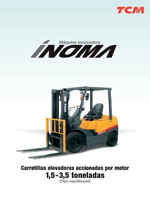 Frontstapler Diesel TCM FD 20 T 3 Inoma