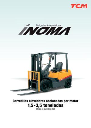 Frontstapler Diesel TCM FD 25 T 3 Inoma