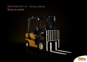 Frontstapler Diesel Yale GDP 25 VX