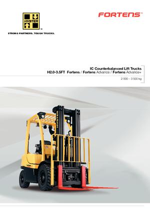 Frontstapler Diesel Hyster H2.0FT