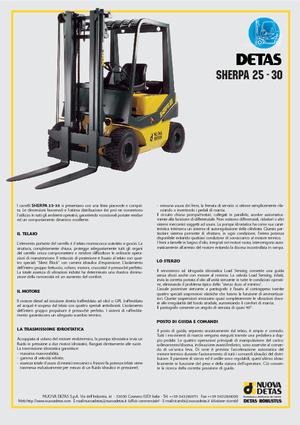Frontstapler Diesel Nuova Detas Sherpa 25