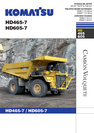 Muldenkipper-SKW Komatsu HD465-7E0