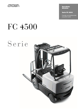 Frontstapler Elektro Crown FC 4525 2.0