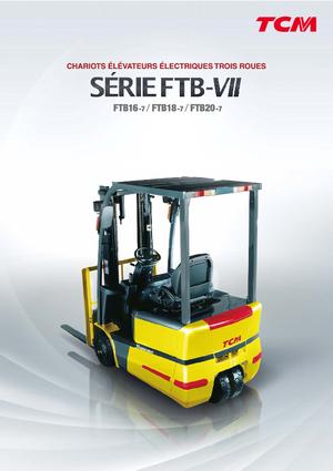 Frontstapler Elektro TCM FTB 18-7