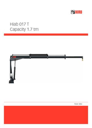 Elektro-Ladekrane Hiab 017 T-1 ELT