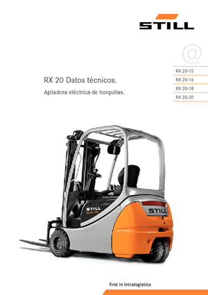 Frontstapler Elektro Still RX 20-20 P/h
