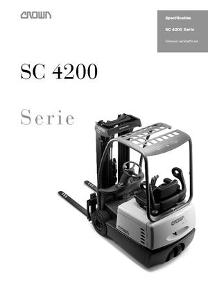 Frontstapler Elektro Crown SC 4240 1,6