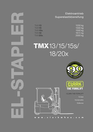 Frontstapler Elektro Clark TMX18