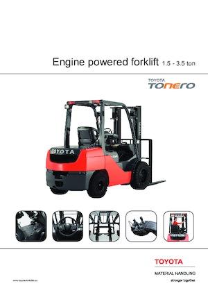 Frontstapler Diesel Toyota 02-8 FGF 25