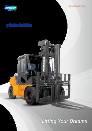 Frontstapler Diesel Doosan D80S-7