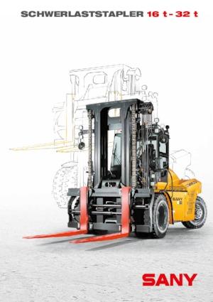 Frontstapler Diesel Sany SCP160G