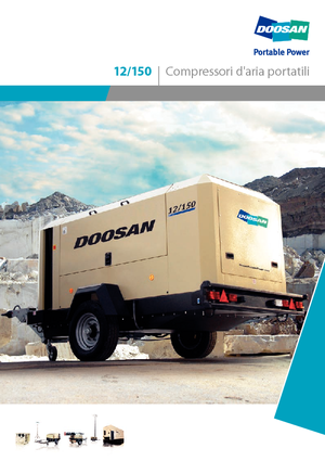 Kompressoren Hochdruck Doosan 12/150